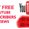 How Do You Get 1000 Subscribers for Free