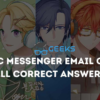 Mystic Messenger Email Guide - All the Correct Answers to Guests