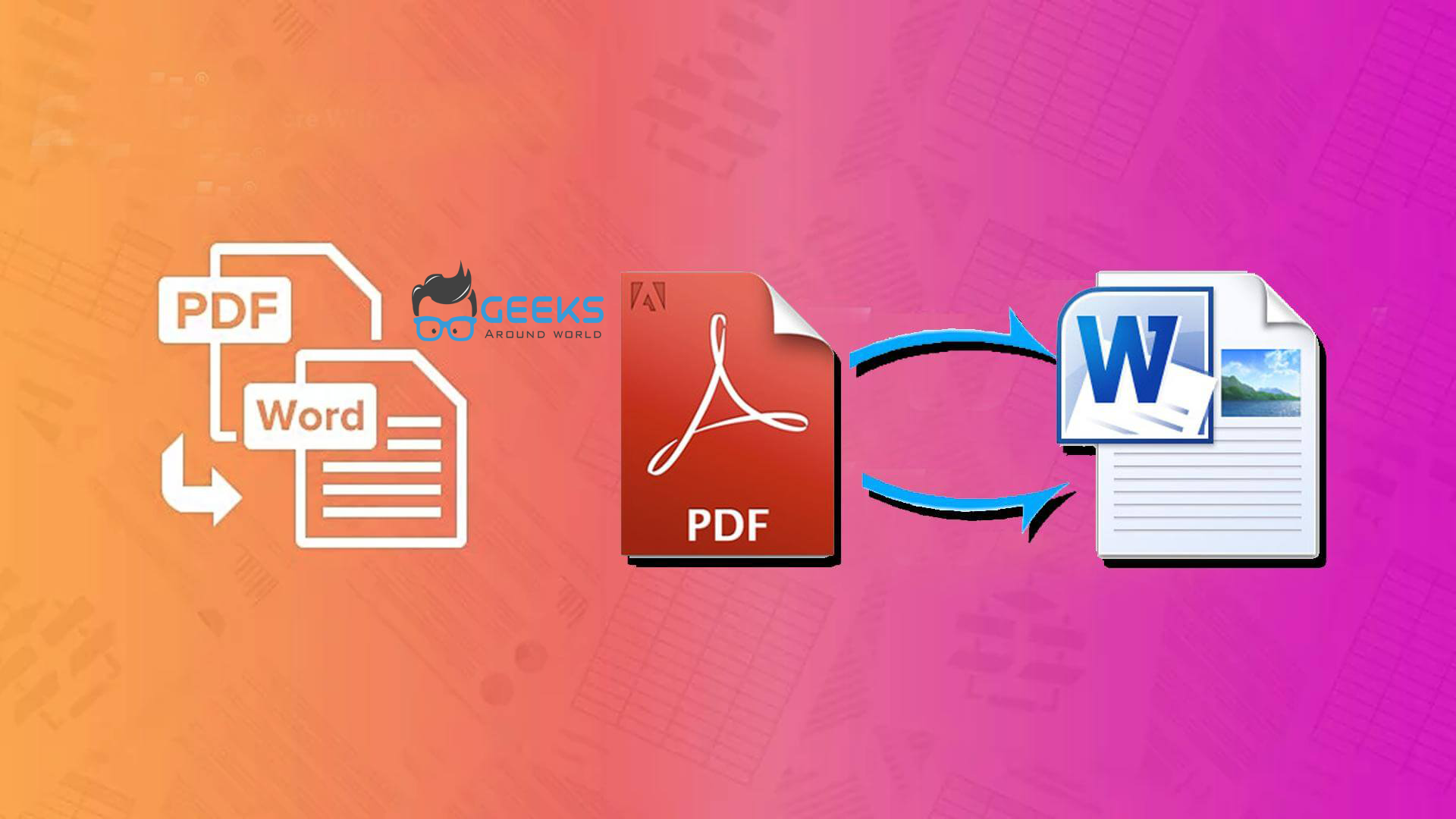 Why do we need to convert PDF to Word?