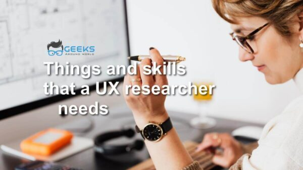 skills that a UX researcher needs